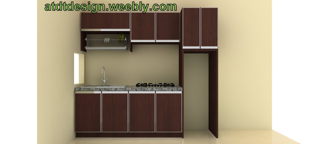 Kitchen cabinet home furniture perabot kraftangan for Harga kitchen cabinet 2016